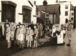 Grand Christmas Fair promotional picture 1955 small